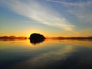 Morning Sunrise over the Tribal Group